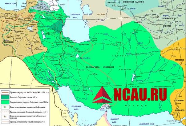 Сефевидский Иран на Северном Кавказе