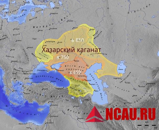 Хазарский каганат на северном Кавказе