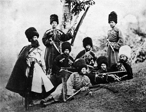 Гребенские и терские казаки на Северном Кавказе