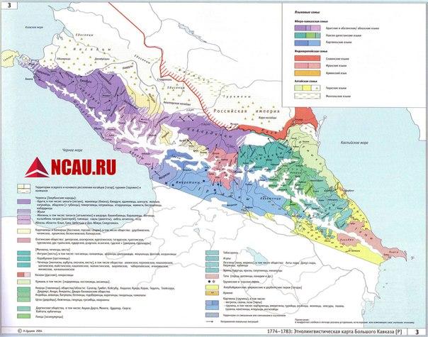 Народы Северного Кавказа перед вхождением в состав Российской империи