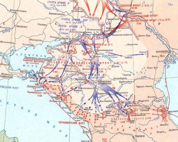 Битва за Северный Кавказ во время Второй мировой войны