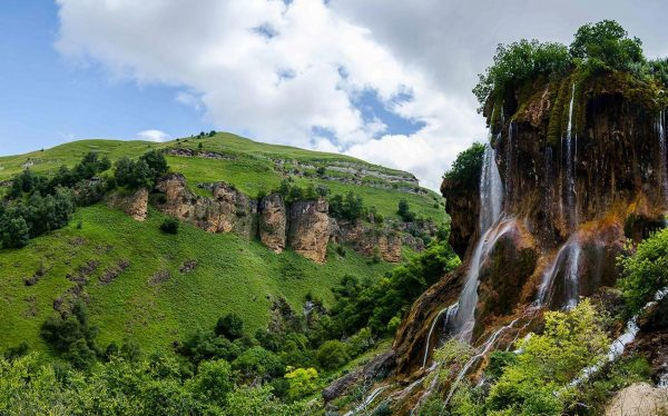 Северный Кавказ. Группа водопадов Гедмишх