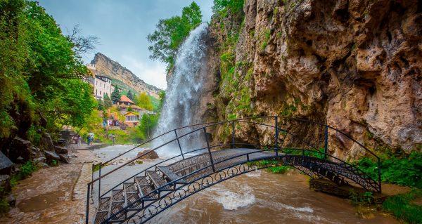 Северный Кавказ. Медовые водопады